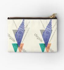 crysler building NY Studio Pouch