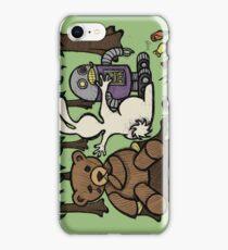 Teddy Bear And Bunny - An Eye For An Eye iPhone Case/Skin