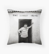 The Donkey Pelvis, Owey Island Throw Pillow
