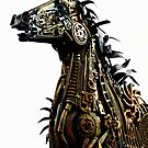 Steampunk Horse of the Apocalypse by Briana McNair