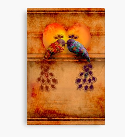 Love Birds Canvas Print