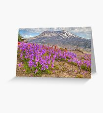 Color from Chaos - Mt. St. Helens Greeting Card