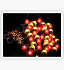 Happy heart light balloons. Sticker
