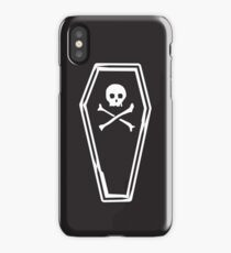 Dead Bed - Night iPhone Case