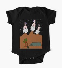 Camping in Front of the Dwombles One Piece - Short Sleeve