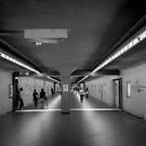 Kyoto Station Subway by Colin  Ewington