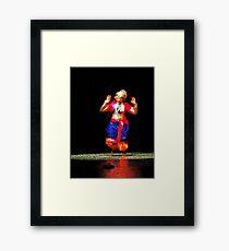 The Indian Dancer is a Story Teller   Framed Print