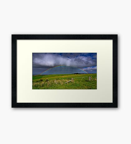 """""""A Promise In The Hills"""" Framed Print"""