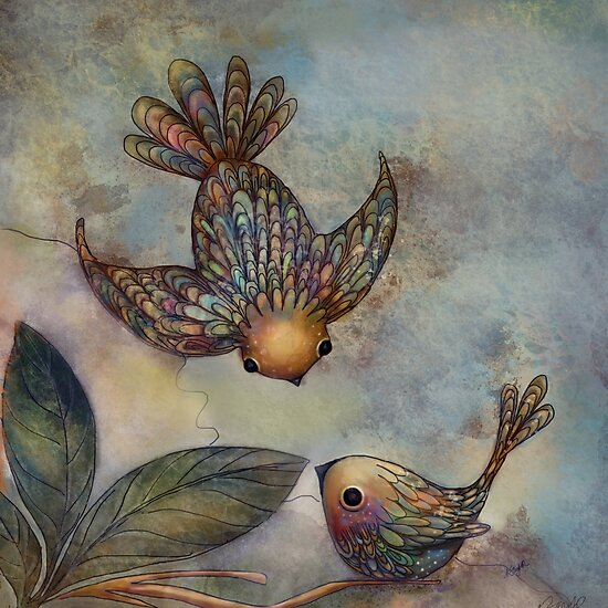 Birds of Paradise by Karin Taylor