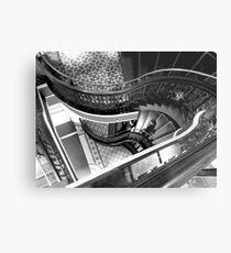 Stairs - QVB Metal Print