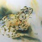 Bul-Frog by Bev  Wells