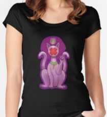 Anon the Cat Women's Fitted Scoop T-Shirt
