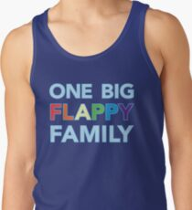 One big flappy Autistic family Tank Top
