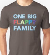 One big flappy Autistic family Unisex T-Shirt