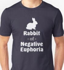 Rabbit of Negative Euphoria Unisex T-Shirt