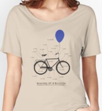 Anatomy Of A Bicycle Women's Relaxed Fit T-Shirt