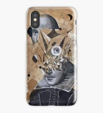 shakespeare as an abstracted concept  iPhone Case/Skin