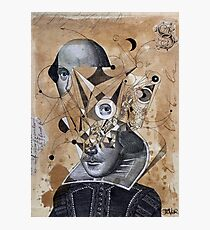 shakespeare as an abstracted concept  Photographic Print