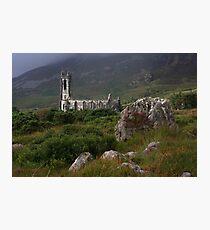 Dunlewey Church On Overcast Day Photographic Print
