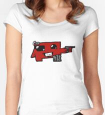 Sci-Fi Meatboy Women's Fitted Scoop T-Shirt