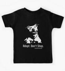 Adopt Dont Shop P4P apparel Kids Tee
