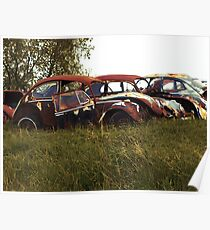 Automobile Graveyard No 7 Poster