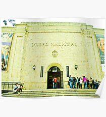 National Museum of Bogotá. Poster
