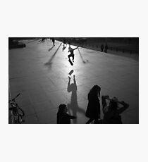 Skateboarding Shadow Photographic Print