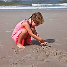 Writing in the sand! by imagic