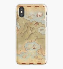 Map of Neverland iPhone Case/Skin