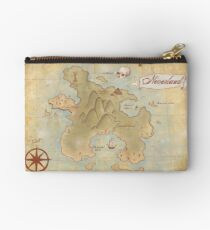 Map of Neverland Studio Pouch