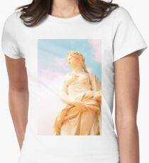 Statue in Versailles  Women's Fitted T-Shirt
