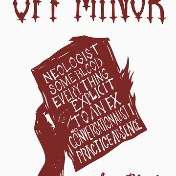 Off Minor - Some Blood Design by Linto1234