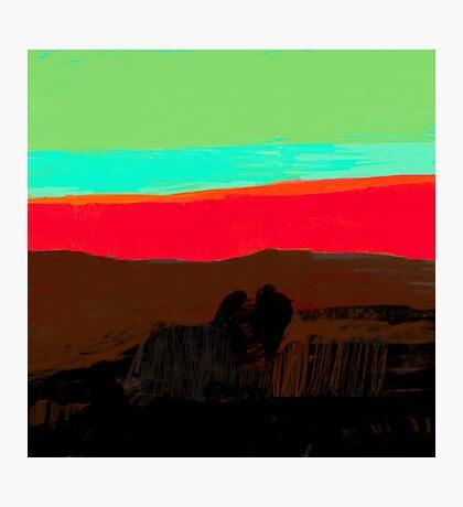 Sunset at Egremni  Photographic Print