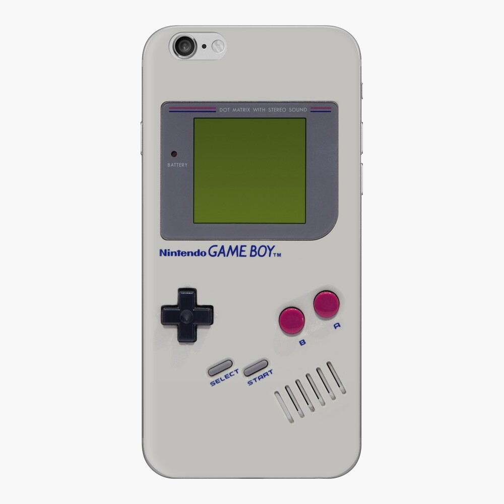 Nintendo-Spieljunge iPhone Klebefolie