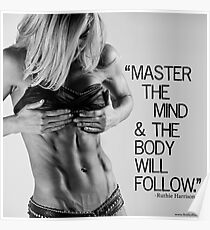 """Ruthie Harrisons """"Master The Mind"""" Poster"""