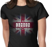I AM CUMBERBATCHED (UK Edition) Womens Fitted T-Shirt