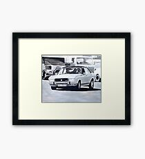 'The Sweeney' Ford Granada 3.0 Ghia Framed Print