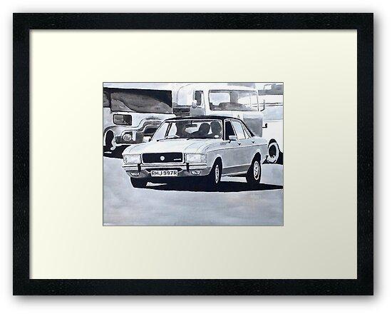 'The Sweeney' Ford Granada 3.0 Ghia by sidfox