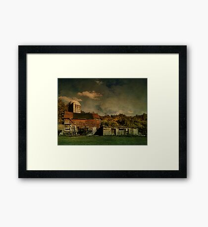 Forlorn Farm Framed Print