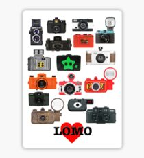 LOMO Sticker