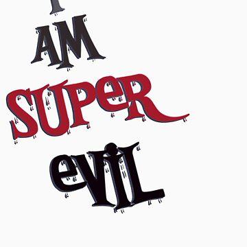 i am super evil by vampvamp