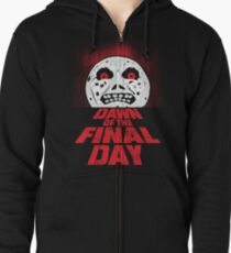 Dawn of the Final Day Zipped Hoodie