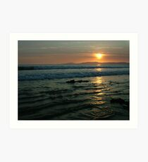 Rossnowlagh Sunset Art Print