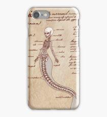 Anatomy of the Mermaid iPhone Case/Skin