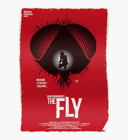 The Fly (Red Collection) Poster