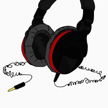 Bass Beats Headset by viridiansong