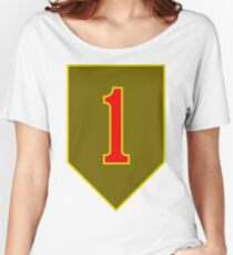 1st Infantry Division, US Army Women's Relaxed Fit T-Shirt