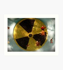 Here Forever: Radioactive Waste Art Print