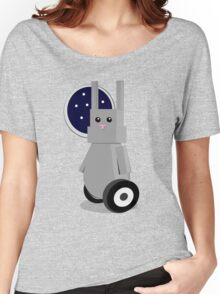 Robot Rabbit in Space Women's Relaxed Fit T-Shirt